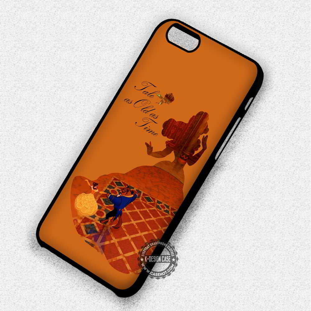 Tale Time Quote Belle Beauty The Beast Iphone 7 6 5 Se Cases