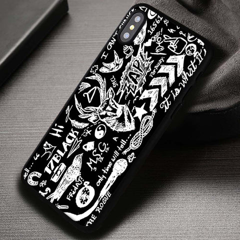 Tattoo All of My Cutes One Direction - iPhone X Case