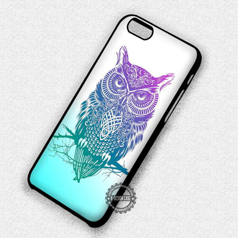 Tattoo Owl Aztec Tribal Nebula - iPhone 7 6 5 SE Cases & Covers