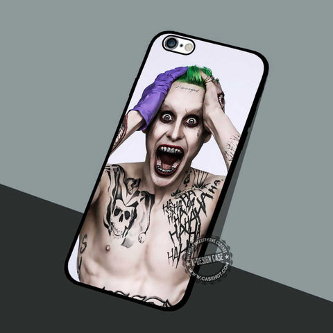 The Joker Jared Leto - iPhone 7 6 5 SE Cases & Covers