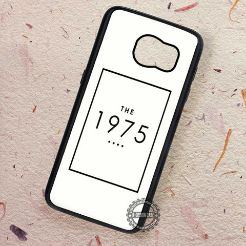 The 1975 Band Art White Logo - Samsung Galaxy S7 S6 S5 Note 7 Cases & Covers