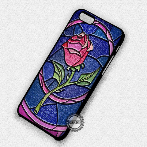 Rose Stained Glass Belle - iPhone 7 Plus 7 6S  SE Cases & Covers