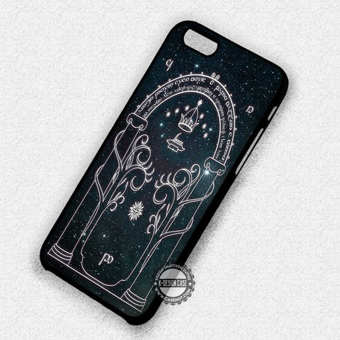 The Gate of Moria - iPhone 7 6 5 SE Cases & Covers
