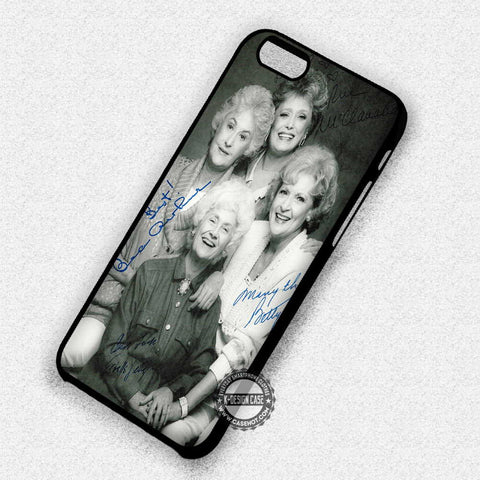 Golden Girls with Sign - iPhone 8+ 7 6s SE Cases & Covers