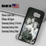 The Golden Girls with Sign - Samsung Galaxy S7 S6 S5 Note 5 Cases & Covers