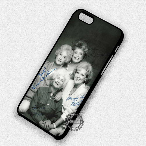 The Golden GirlsPhoto With Sign - iPhone 7 6 Plus 5c 5s SE Cases & Covers