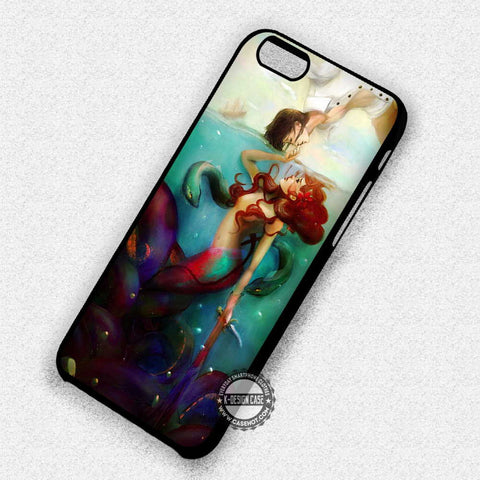 Ariel with Prince Eric - iPhone 7 6 Plus 5c 5s SE Cases & Covers