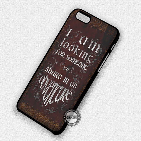 Quote Adventure Vintage - iPhone 7 6 5 SE Cases & Covers
