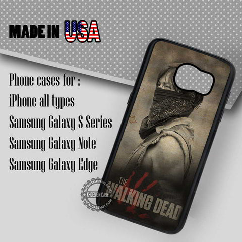 Daryl Dixon with Scarf  - Samsung Galaxy S7 S6 S5 Note 5 Cases & Covers