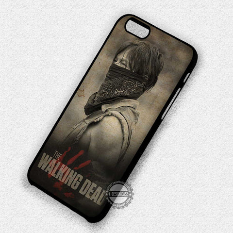 Daryl Dixon with Scarf  - iPhone X 8+ 7 6s SE Cases & Covers