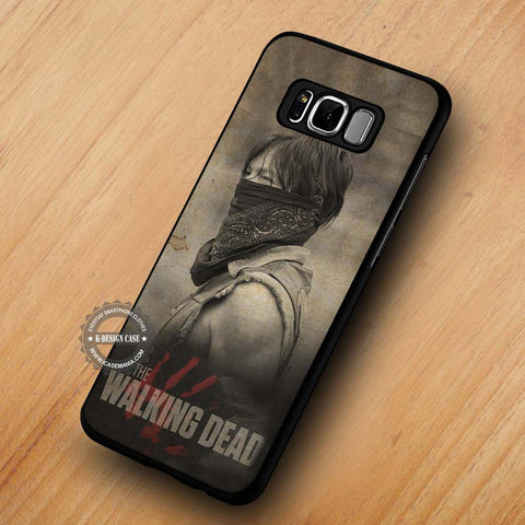 The Walking Dead Daryl Dixon with Scarf - Samsung Galaxy S8 Case