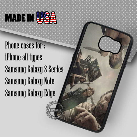 The Walking Dead Characters - Samsung Galaxy S7 S6 S5 Note 5 Cases & Covers