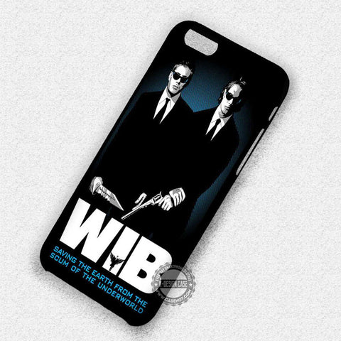 The Winchesters in Black - iPhone 7 Plus 6 5S SE 4 Cases & Covers