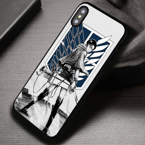 The Choice We Made Shingeki No Kyojin Attack On Titan - iPhone X Case