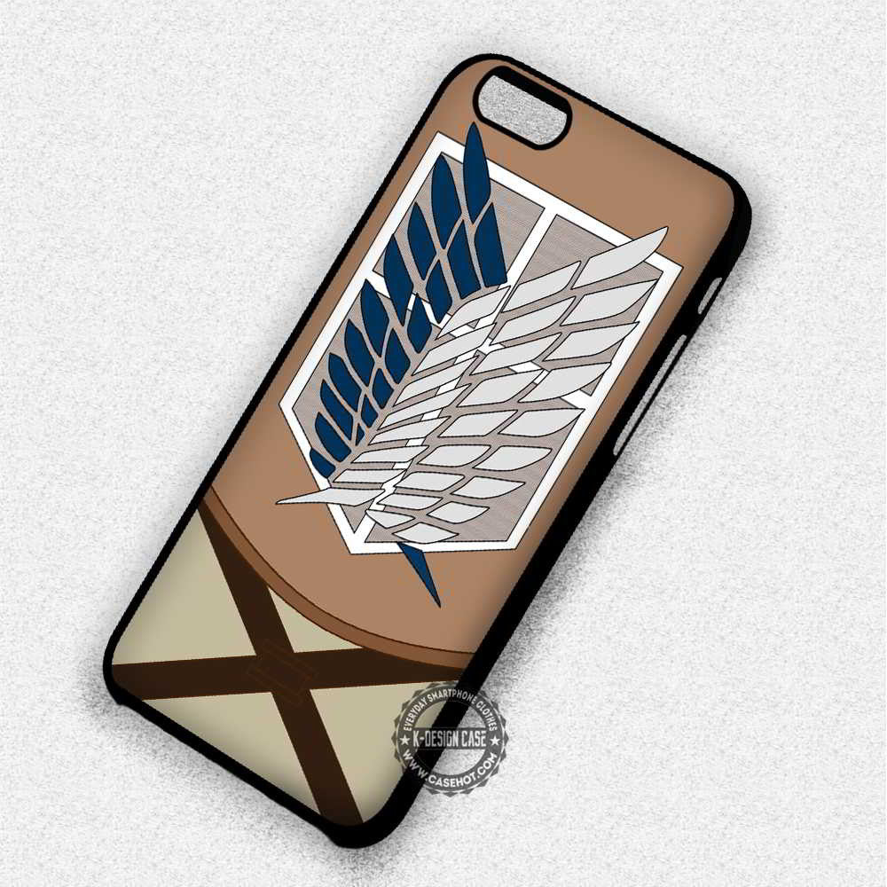 Wings of Freedom Attack on Titan iphone case