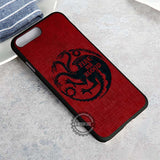 The Dragons Fire And Blood - iPhone 8+ Case
