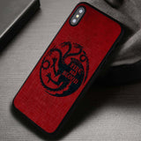 The Dragons Fire And Blood - iPhone X Case
