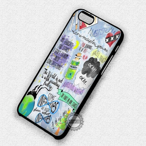 Collage John Green Okay - iPhone 7 6 Plus 4 Cases & Covers