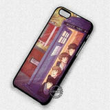 Artist Cute Doctor Who - iPhone 7 6S+ 5C SE Cases & Covers