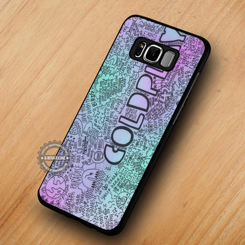 The Scientist Quotes Collage Coldplay - Samsung Galaxy S8 Case