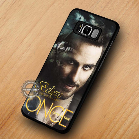 The Sexy Pirate Captain Hook Once Upon A Time - Samsung Galaxy S8 Case