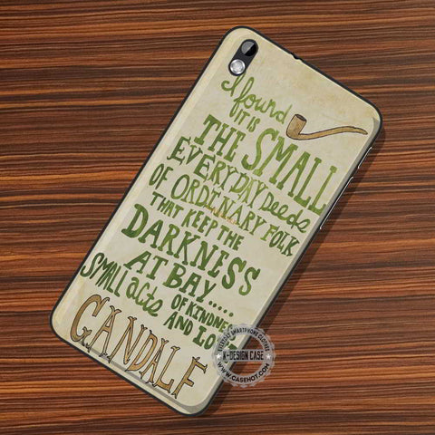 The Small Gandalf Quote - LG Nexus Sony HTC Phone Cases and Covers