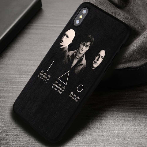 The Three Of Them Harry Potter - iPhone X Case
