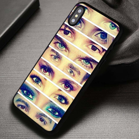 The Vampire Diaries Eyes - iPhone X Case