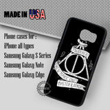 Deathly Hallows Harry Potter - Samsung Galaxy S7 S6 S5 Note 5 Cases & Covers