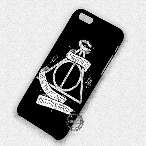 Together Deathly Hallows - iPhone 8+ 7 6s SE Cases & Covers