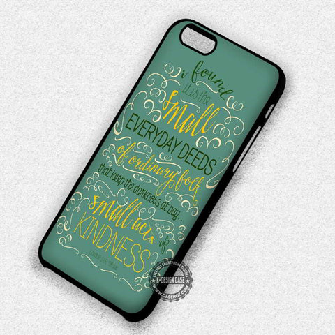 Gandalf The Hobbit Quotes Map Face 2 iphone case
