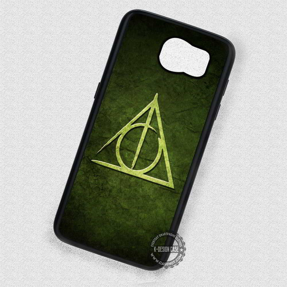Triangle Green Symbol Harry Potter - Samsung Galaxy S7 S6 S5 Note 7 Cases &  Covers