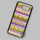 Tribal Wood Watercolor Pattern - Samsung Galaxy S7 S6 S5 Note 5 Cases & Covers
