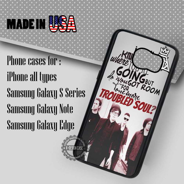 brand new d0c65 e8f9c Troubled Soul Fall Out Boy - Samsung Galaxy S7 S6 S5 Note 5 Cases & Covers