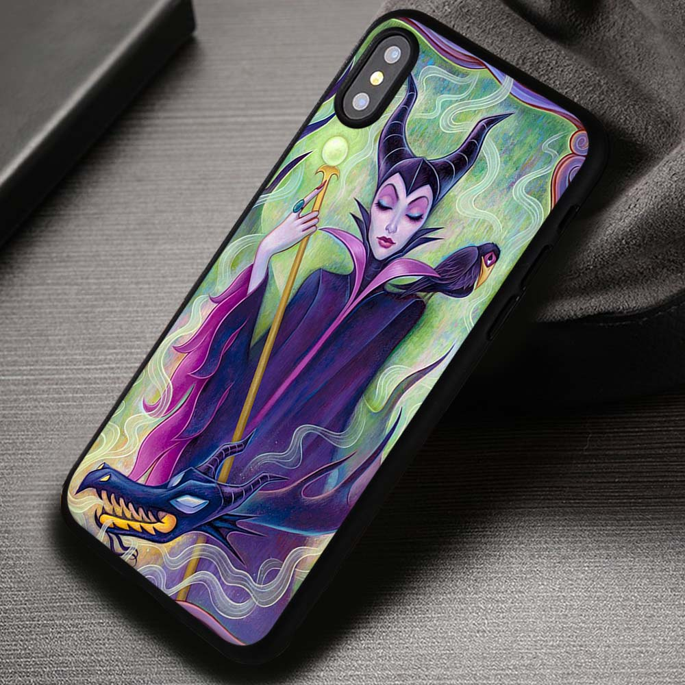Disney Villain Maleficent iphone case