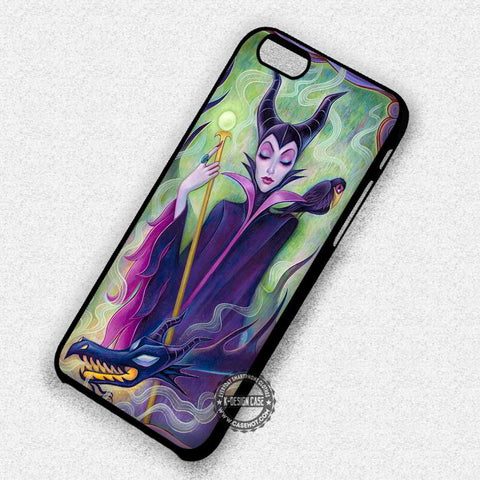Villain Disney Princess Maleficent Character - iPhone 7 6 5 SE Cases & Covers