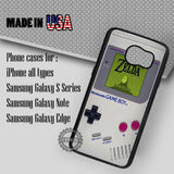 Vintage Gameboy Nintendo - Samsung Galaxy S7 S6 S5 Note 5 Cases & Covers