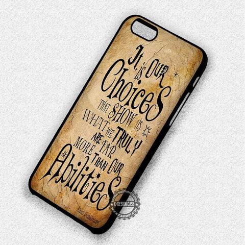 Albus Dumbledore Hogwarts - iPhone 7 Plus 6 5 4 Cases & Covers