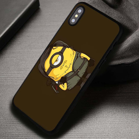 Walking Dead Minion Daryl - iPhone X Case