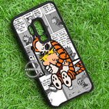 Calvin and Hobbes Cartoon - Samsung Galaxy S8 S7 S6 Note 8 Cases & Covers #SamsungS9