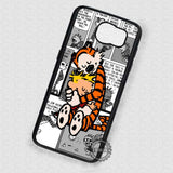 Warm Hug Calvin and Hobbes - Samsung Galaxy S7 S6 S5 Note 7 Cases & Covers