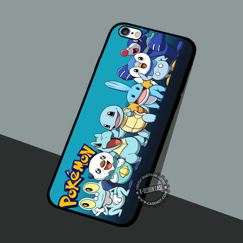 Water Starters Pokemon - iPhone 7 6 5 SE Cases & Covers