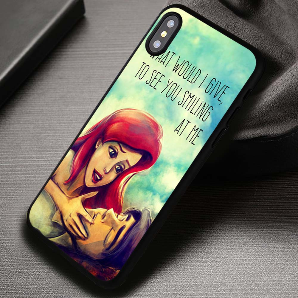 los angeles c4aff e20cf What Would I Give Ariel And Eric Little Mermaid - iPhone X 8+ 7 6s SE Cases  & Covers #iPhoneX
