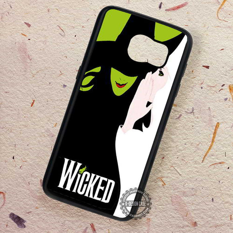 Wicked Broad Away Musical Drama - Samsung Galaxy S7 S6 S5 Note 7 Cases & Covers