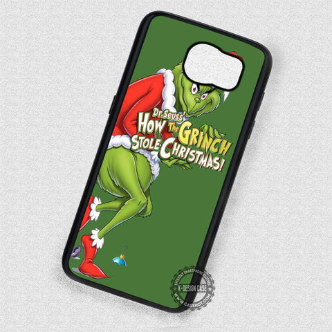 Winter Gift How the Grinch Christmas - Samsung Galaxy S7 S6 S5 Note 7 Cases & Covers