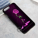 Withered Rose Princess Rose Glass - iPhone 8+ Case