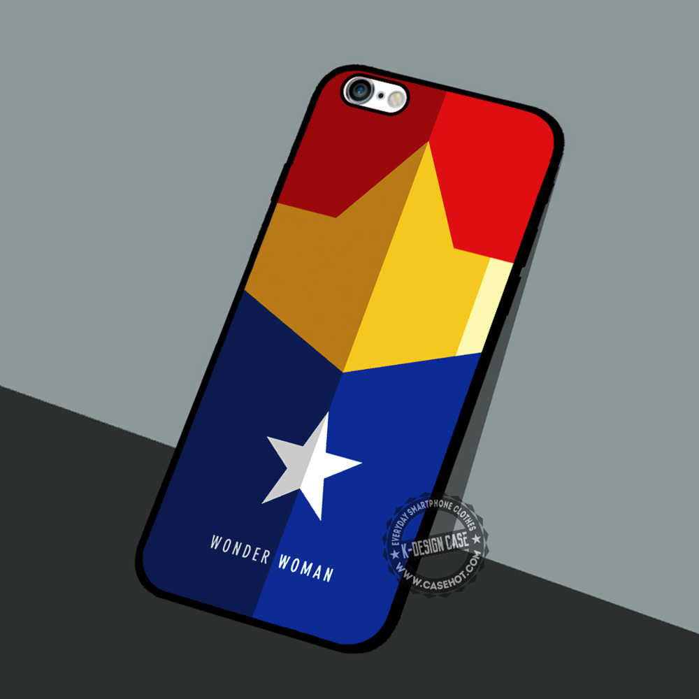 Wonder Woman Minimalist iphone case