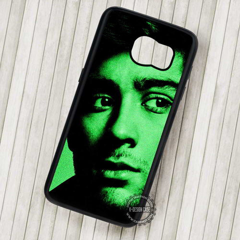 Zayn Malik Green Pattern - Samsung Galaxy S7 S6 S5 Note 7 Cases & Covers