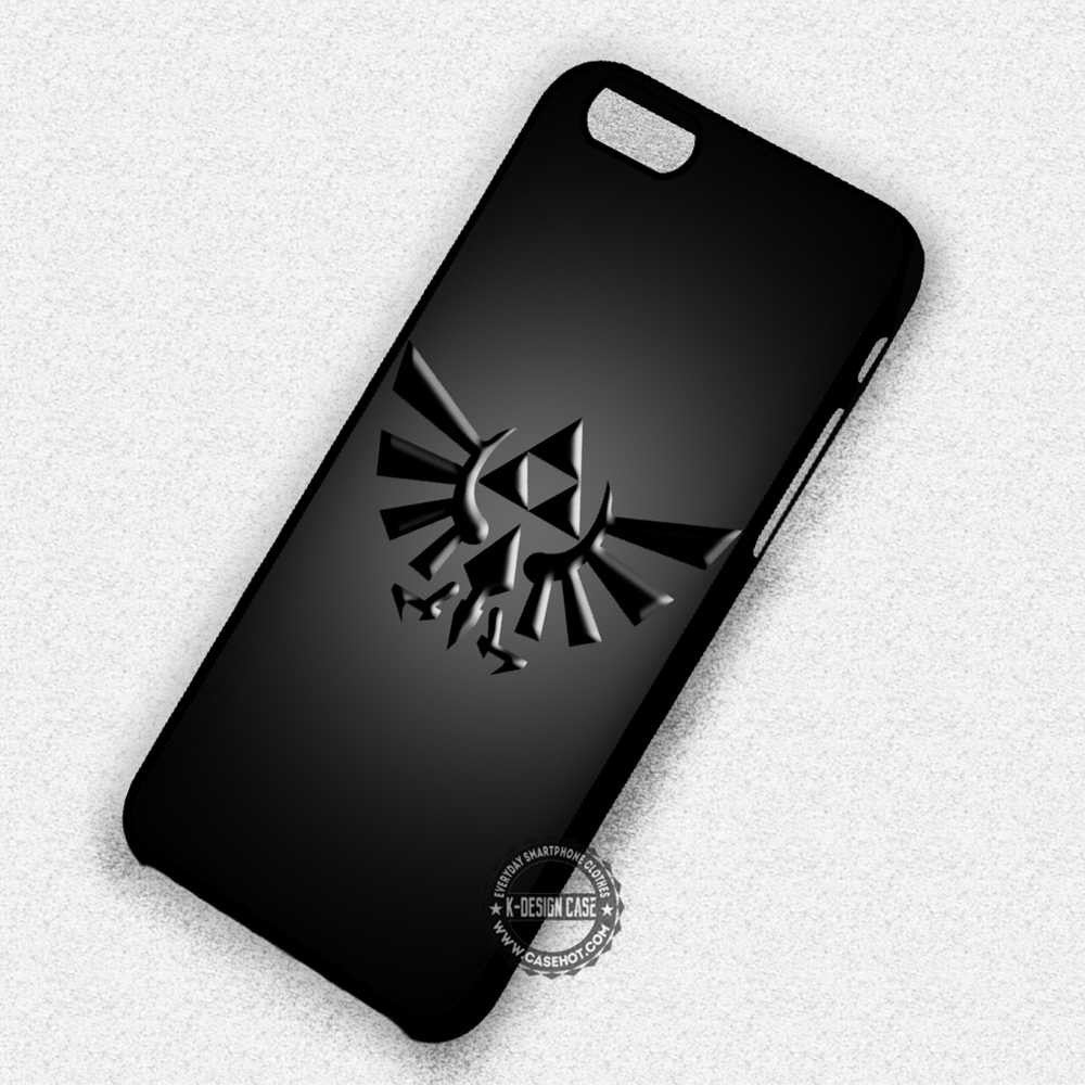 Black Triforce Symbol Legend Of Zelda Iphone 7 6 Plus 5c 5s Se