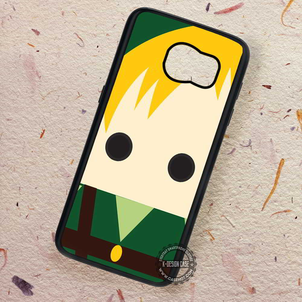 buy popular 761a8 d4475 Zelda Face Vector Character - Samsung Galaxy S7 S6 S5 Note 7 Cases & Covers